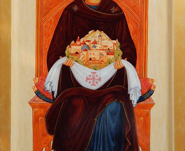 Říjnová Oslava Panny Marie Královny Svaté Země Ve Křtinách
