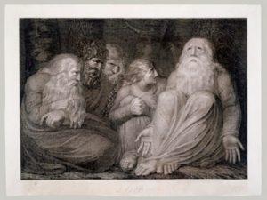 William Blake, ilustrace ke knize Job (1793)
