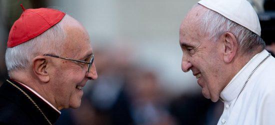 Filoni s papezem