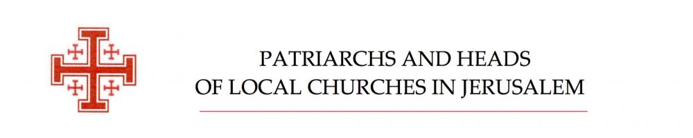 """Prohlášení Patriarchů Ve Svaté Zemi K """"Deal Of Century"""""""