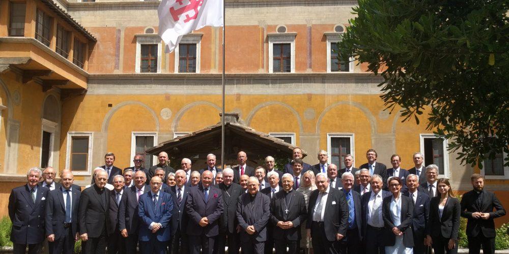 Ozvěna Setkání Evropských Místodržitelů Řádu Božího Hrobu, červen 2019